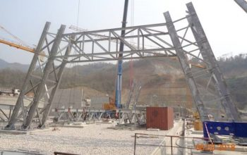 550 kV Take-off yard in Laos – Erected